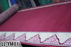 Karpet Yasmin Merah LL-YM01